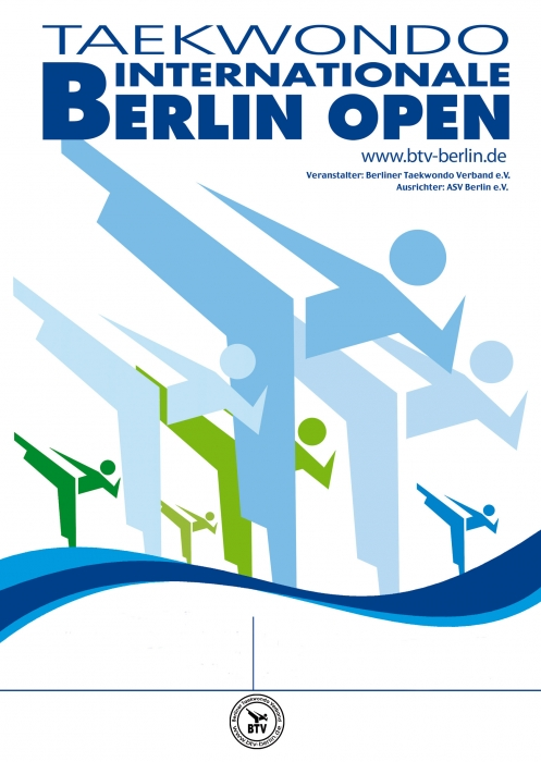 Plakat Berlin Open